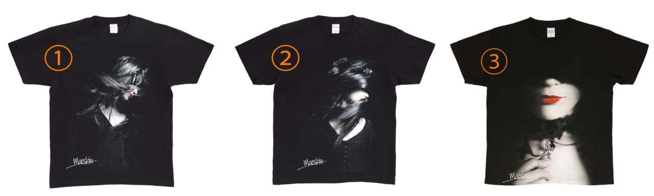 Maeshin オリジナル Tシャツ Model :さえ